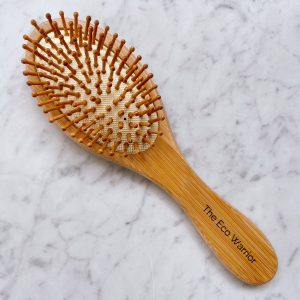 The Eco Warrior Bamboo Hair Brush (Small)