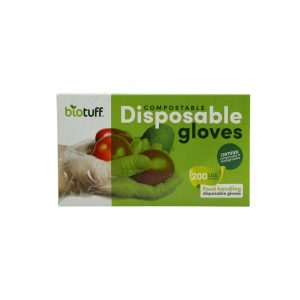 Compostable Disposable Gloves Large 200