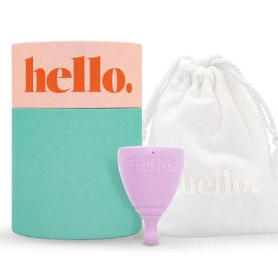 Hello Menstrual Cup Lilac XS