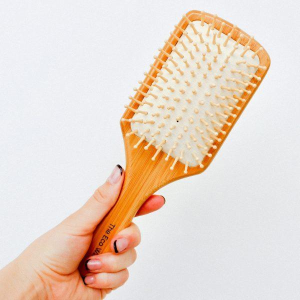 The Eco Warrior Paddle Hair Brush
