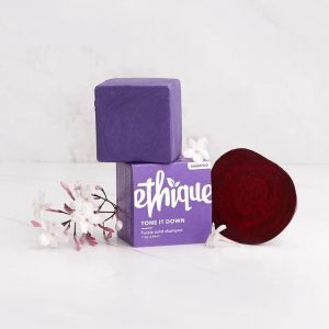 Ethique Solid Shampoo Bar Tone It Down Purple 110g