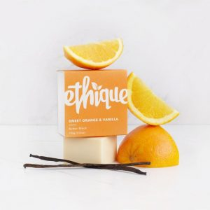 Ethique Body Butter Block Sweet Orange & Vanilla 100g